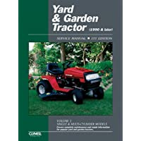 Yard & Garden Tractor Service Manual: 1990 & Later : Single & Multi-Cylinder Models: 3