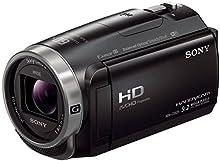 Sony HDR-CX625 Videocamera HD con Sensore CMOS Exmor R, Ottica Sony G, Zoom Ottico 30x, Stabilizzazione Attiva a 5 Assi (BOSS), Nero