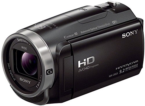 Sony HDR-CX625 Full HD Camcorder (30-fach optischer Zoom, 5-Achsen BOSS Bildstabilisation, NFC) schwarz (Handycam Sony Camera Video)