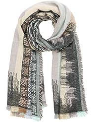 Echarpe Colourblock Aztek Passigatti foulard pour femme echarpe en tricot