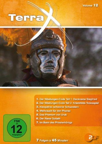Terra X - Volume 12: Nibelungen-Code / Kleopatras schwarze Schwestern / Weihrauch für den Pharao / Phantom von Uruk (2 DVDs)