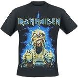 Unbekannt Iron Maiden Powerslave Mummy T-Shirt schwarz L
