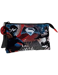 Warner Batman Vs Superman Kosmetikkoffer, Schwarz