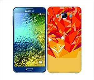 Galaxy Printed 2542 Orgami Fox Hard Cover for Samsung CORE 2