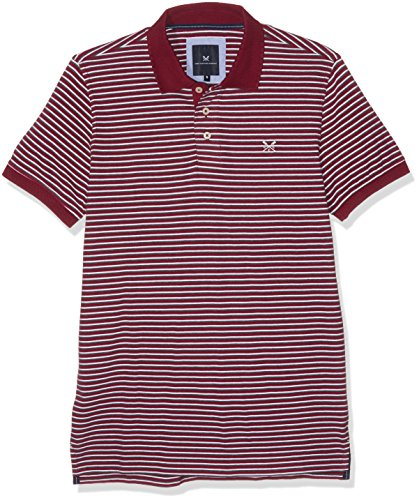 Crew Clothing Herren Hemden sansom Polo Multicoloured (boyowhchr)