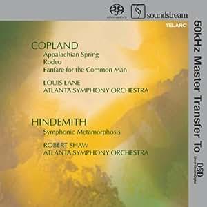 Copland: Appalachian Spring / Hindemith: Symphonic Metamorphosis