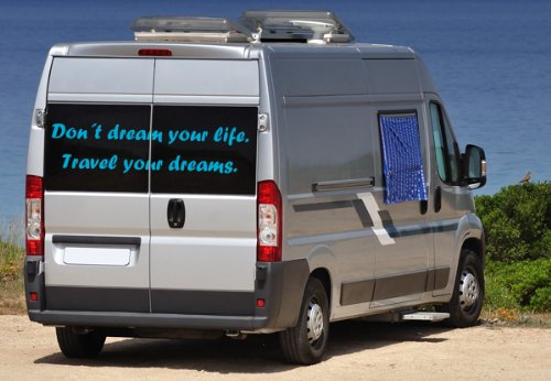Wandtattoo Don´t dream your life. Travel your dreams