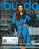 Burda Style 12/2009 Die Ausgabe Dezember mit original eingeheftetem Schnittbogen Themen: Elegante Mode für die Festtage Weihnachten, Wickelblazer, Silvester bis Gr. 52