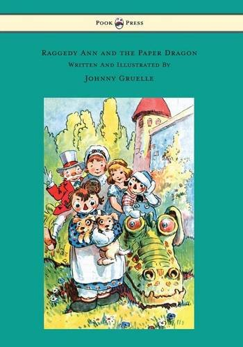 Raggedy Teddy Bear (Raggedy Ann and the Paper Dragon - Illustrated by Johnny Gruelle)