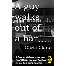 A Guy Walks Out Of A Bar