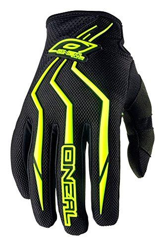 O'Neal Element Kinder Handschuhe Neon Gelb Hi-Viz MX MTB DH Motocross Enduro Offroad Quad BMX FR, 0390-5, Größe XS