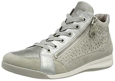 ARA Sneaker silbergrau / schwarz Günstig Kosten Outlet Online-Shop Mf4Kgf4