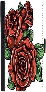 Snoogg Floral Vector Element Designer Protective Flip Case Cover For Samsung ...
