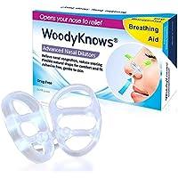 WoodyKnows Nasendilatator Set mit Snorepast Ratgeber gegen Schnarchen, für Abhilfe bei verstopfter Nase, Reduziert... preisvergleich bei billige-tabletten.eu