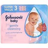 Bébé Doux Des Lingettes De Johnson (56 Par Paquet X 3)