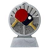 pokalspezialist Pokal mit 3D Motiv Tischtennis Serie Ronny 10,5 cm hoch