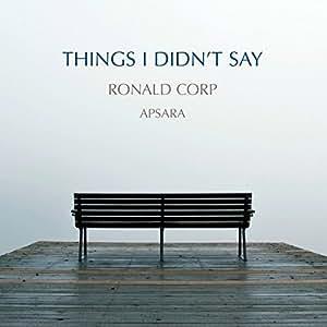 Things I Didn't Say