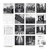 Image de New York 2016 - Broschürenkalender (30 x 60 geöffnet) - schwarz/weiß - Städtekalender - Wandplaner