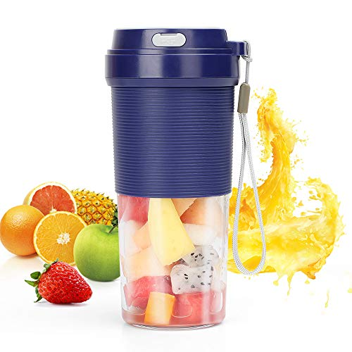 51z4KpgfDIL. SS500  - POWERGIANT Portable Blender, Mini Personal Blender USB Rechargeable Cordless Small Juicer Cup Smoothie Blender Maker for…