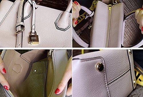 La borsa semplice della borsa della borsa di modo della borsa di modo della molla e di estate più nuova borsa borsa del messaggero ( Colore : Rosa ) Rosa