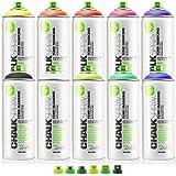 Montana Dosen Kreide Spray Paint temporäre Kennzeichnung Umweltfreundlich–Set mit allen...