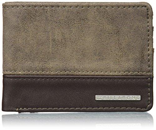 Billabong Dimension, Bolsa y Cartera para Hombre, Marrón (Brown), 1.8x9x12 cm (W x H x L)