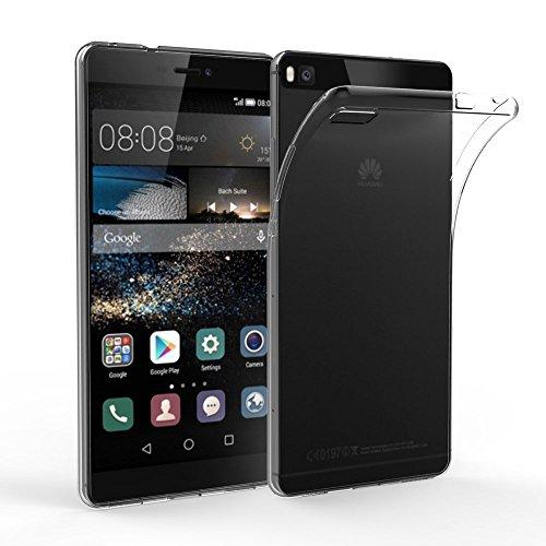 EasyAcc Huawei P8 Hülle Case Transparent Handyhülle Schutzhülle TPU Crystal Clear