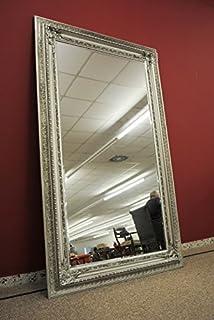großer spiegel silber
