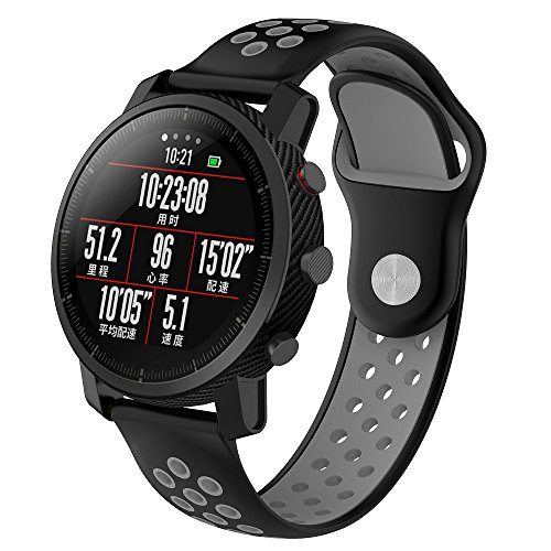 XIHAMA Correas inteligente Xiaomi Amazfit Watch,22mm