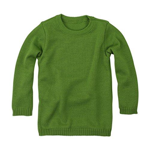 Disana Basic-Pullover - 110/116 - grün