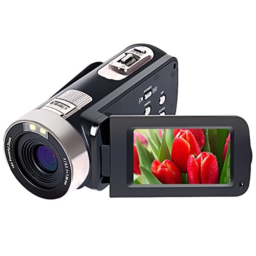 Videocamera Full HD 1080p 24.0 MP Videocamere digitali Zoom digitale 16X...