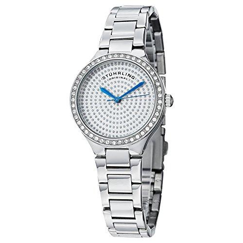 Stuhrling Original - 683.01 - Montre bracelet - Quartz - Affichage - Analogique - Bracelet - Acier inoxydable - Argent - Cadran - Argent - Femme