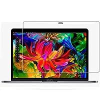 MacBook Pro de 13 pulgadas con protector de pantalla para portátil Touch Bar, 9H Protección de pantalla de vidrio templado para cobertura completa para 13.3 pulgadas Apple MacBook Pro 13 pulgadas A1706 / A1708)