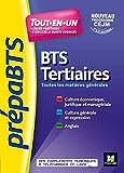 PREPABTS - Toutes les matières générales - BTS Tertiaires - Révision et entrainement