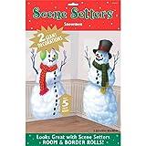 Amscan International Scene Setter Snowmen