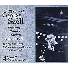 The Art of George Szell - Unveröffentlichte Konzertmitschnitte 1943-1957