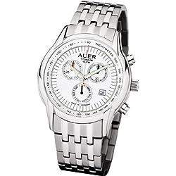 U.Auer Titanium Classic ZU-411-SMR Uhr Made in Germany