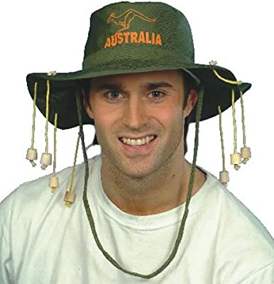 HENBRANDT Hat Australian With Corks for Fancy Dress Party Accessory : everything five pounds (or less!)
