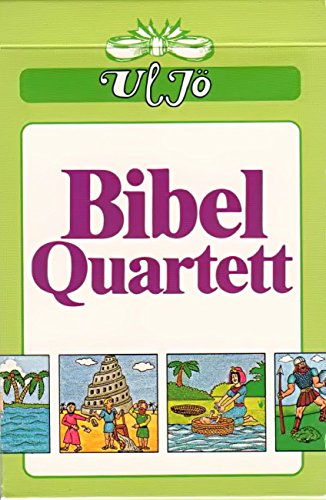 °°1234 Bibel-Quartett mit Bildern aus biblischen Geschichten (Bibel-spiel Kinder)