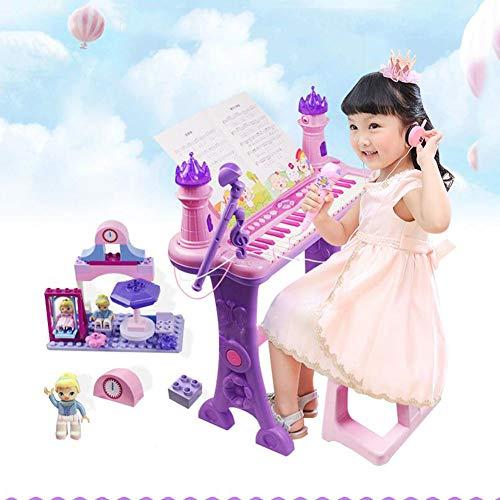 Sejngf tastiera per bambini girl toy 1-6 birthday gift beginner (versione cinese)