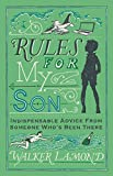 """Rules For My Son is a collection of traditional, humorous, and urbane fatherly advice for boys. From the sartorial (""""Men should not wear sandals. Ever"""") to the practical (""""Keep a copy of your letters. It makes it easier for your biographer"""") to ev..."""