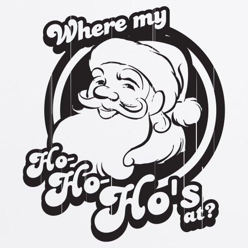 Ho Ho Ho's OG Christmas T-Shirt, Herren Wei