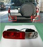 FidgetGear Lot de 2 Feux antibrouillard arrière pour Mitsubishi Pajero Montero 2003-2006