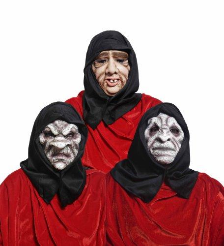 Rubies`s - Mascaras encapuchado maldito 3 modelos (surtidos)