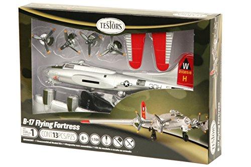 Testors Model Kit-B-17 Flying Fortress - Painted (17 B Model Kit)