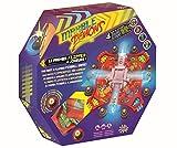 Splash Toys 30140 -Flipperspiel MARBLE DEMONS, Flipper Murmel Dämonen, Geschicklichkeitsspiel für mehrere Spieler mit Sound und Lichteffekten in tollem Retro-Design
