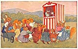 Dressed Animals Post Card Punch & Judy Show 1968