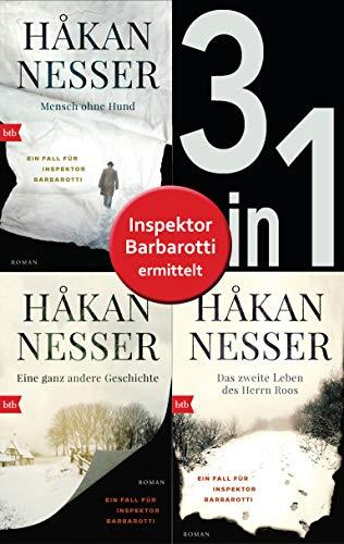 Die Gunnar Barbarotti-Reihe Band 1 bis 3 (3in1-Bundle): Mensch ohne Hund/Eine ganz andere Geschichte/Das zweite Leben des Herrn Roos: Romane