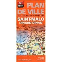 Plan de Saint-Malo, Dinard et de Dinan