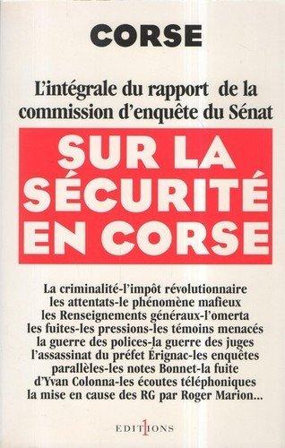 Corse : l'intégrale du rapport d'enquête du Sénat